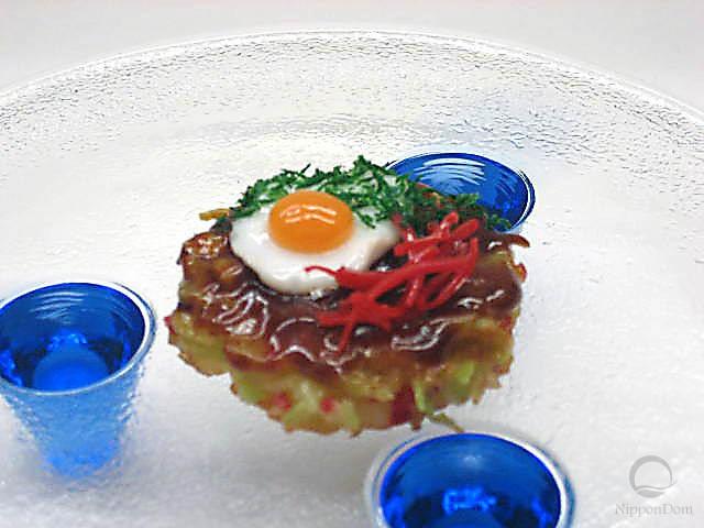Okonomiyaki w. egg