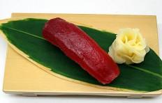 """Replica of sushi """"Pickled red tuna"""""""