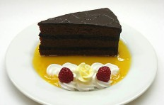 A piece of chocolate cake-2