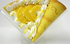 Replica pancake with pineapple and cream-1