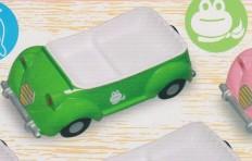 Поднос-машина (зелёная)