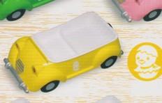 Поднос-машина (жёлтая)
