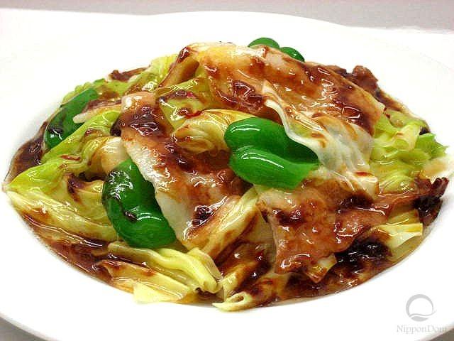 "Pork and cabbage ""Hoikoro"""