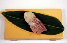 """Replica of sushi """"Raw squid (1)"""""""