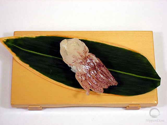 "Муляж суши ""сырой кальмар (1)"""