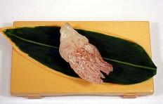 """Replica of sushi """"Raw squid (2)"""""""