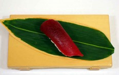 "Replica of sushi ""red tuna (2)"""