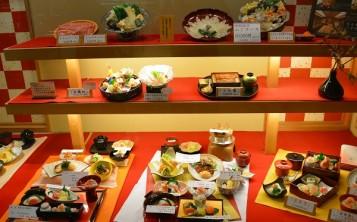Японский ресторан - 1. Витрина.