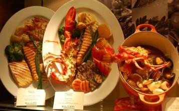"""Restaurant """"Ocean Grill Tokyo"""". Display window."""