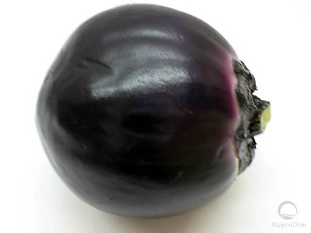 Large round eggplant (100/100mm)
