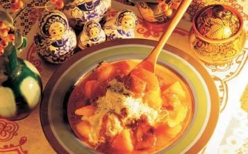 Муляжи блюд - Русская кухня