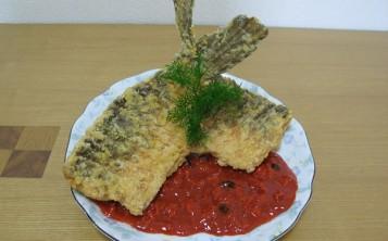 Муляжи блюд - Рыба