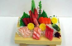 Макет доски с сашими (1-2 порции)