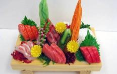 Макет доски с сашими (2-3 порции)