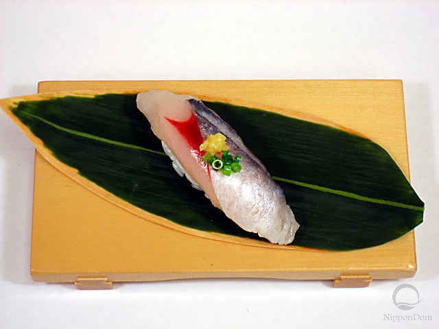 Replica of sushi Saury (22)