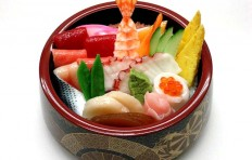 Муляж чаши с морепродуктами-4