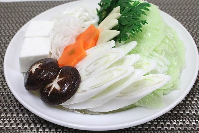 Shabu: Vegetables (2 servings)