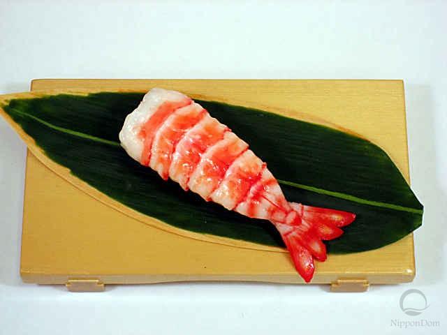 Replica of sushi shrimp-3