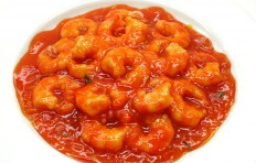 Shrimps in chili sauce-3