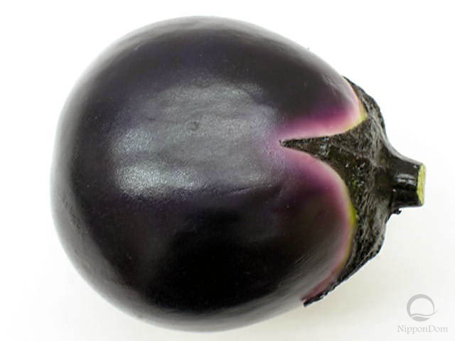 Small round eggplant (100/87mm)