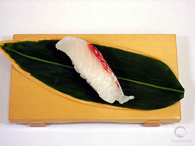 Replica of sushi Snapper-4