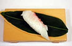 Replica of sushi Snapper-7