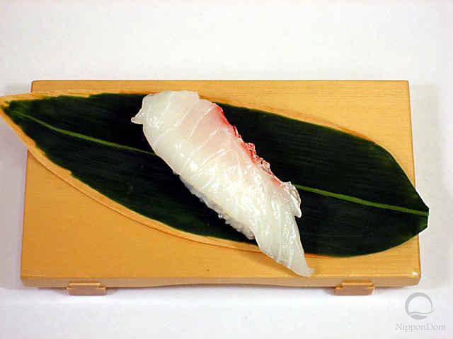 Replica of sushi Snapper-7