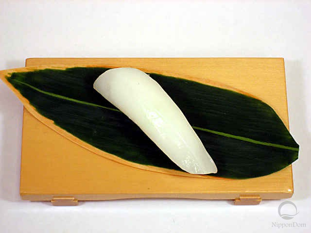 "Replica of sushi ""squid (1)"""
