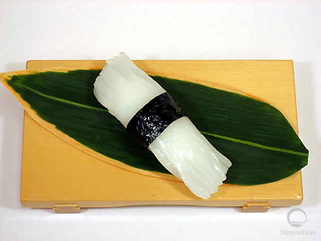 "Replica of sushi ""squid (10)"""