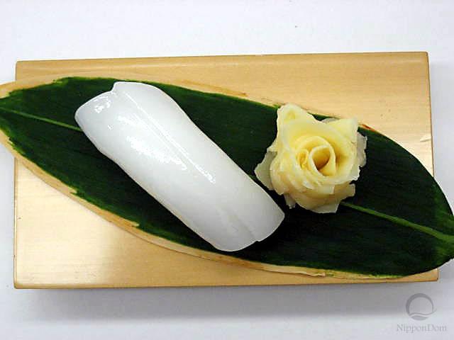 """Replica of sushi """"squid (12)"""""""