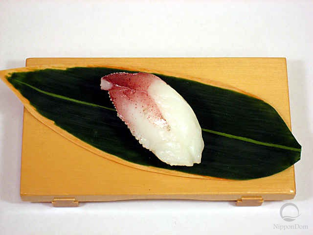 "Replica of sushi ""squid (15)"""