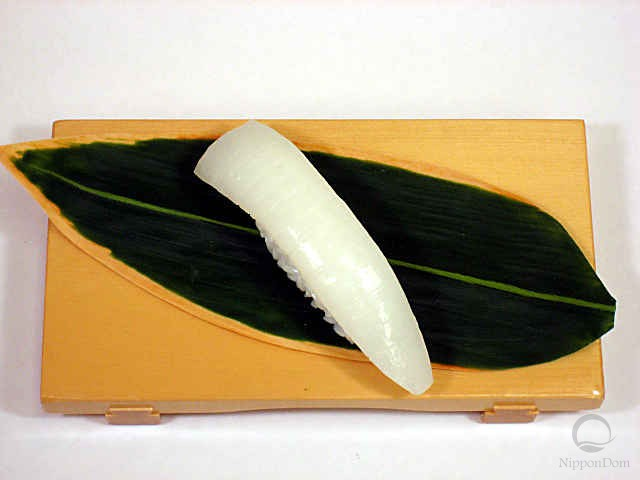 "Replica of sushi ""squid (5)"""