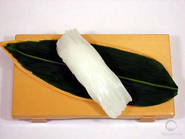 """Replica of sushi """"squid (9)"""""""