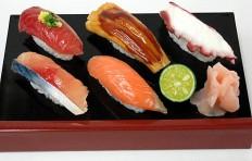 A replica of sushi set (5 pieces)