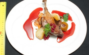Duck with Pears