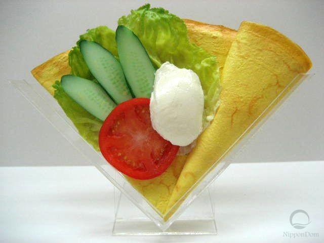 Овощной салат со сливочным кремом