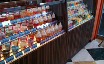 Витрина мороженого -3