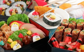 Plastic replicas of dishes - Japanese cuisine