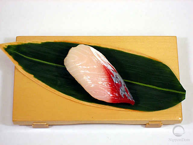 "Replica of sushi ""Yellowtail (2)"""