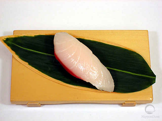 "Replica of sushi ""Yellowtail (4)"""